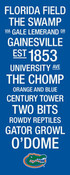 Florida Gators/Ben Hill Griffin Stadium College Town Wall Art wt