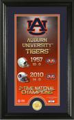 "Auburn Tigers ""Legacy"" Bronze Coin Panoramic Photo Mint"
