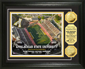 Appalachian State Mountaineers Gold Coin Photo Mint