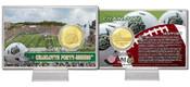East Carolina Pirates Bronze Coin Card