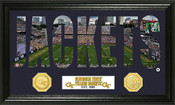 "Georgia Tech Yellow Jackeets ""Word Art"" Panoramic Photo Mint"