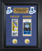 Kansas City Royals World Series Champions Ticket Collection