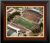 Wyoming Cowboys at War Memorial Stadium Poster 2