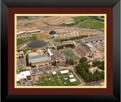 Wyoming Cowboys at War Memorial Stadium Poster 3