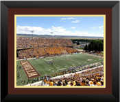 Wyoming Cowboys at War Memorial Stadium Poster 4