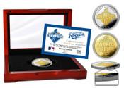 Kansas City Royals 2015 World Series Champions Two-Tone Mint Coi