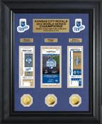 Kansas City Royals 2015 World Series Champions Ticket Collection