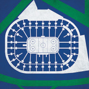 Vancouver Canucks - Rogers Arena City Print