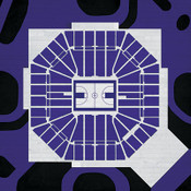 Sacramento Kings - Sleep Train Arena City Print