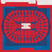 Washington Wizards - Verizon Center City Print
