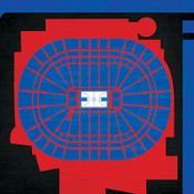 Philadelphia 76ers - Wells Fargo Center City Print