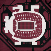 Florida State Seminoles - Doak Campbell Stadium City Print