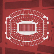 Alabama Crimson Tide - Bryant Denny Stadium City Print