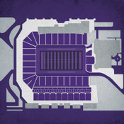Kansas State Wildcats - Bill Snyder Stadium City Print