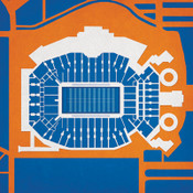 Florida Gators - Ben Hill Griffin Stadium City Print