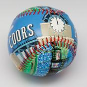 Coors Field Stadium Baseball