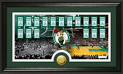 "Boston Celtics ""Tradition"" Minted Coin Pano Photo Mint"