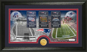 "New England Patriots ""Tradition"" Minted Coin Pano Photo Mint"