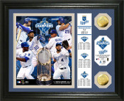 "Kansas City Royals 2015 World Series Champions ""Banner"" Gold Coi"