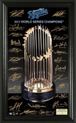 "Kansas City Royals 2015 World Series Champions ""Trophy"" Signatur"