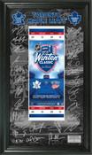 Toronto Maple Leafs 2014 Winter Classic Signature Ticket