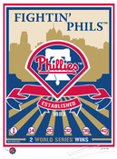 Philadelphia Phillies Handmade LE Screen Print
