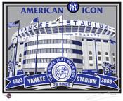 Old Yankee Stadium Handmade LE Screen Print