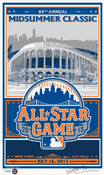 2013 MLB All-Star Game Handmade LE Screen Print