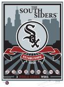 Chicago White Sox Handmade LE Screen Print