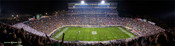 """Night Game"" Michigan State Spartans Panoramic Photo"