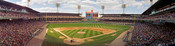 """Comiskey Park"" Chicago White Sox Panoramic Photograph"