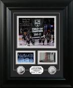 "LA Kings 2012 Banner Raising Ceremony ""Marquee"" Photo Mint"