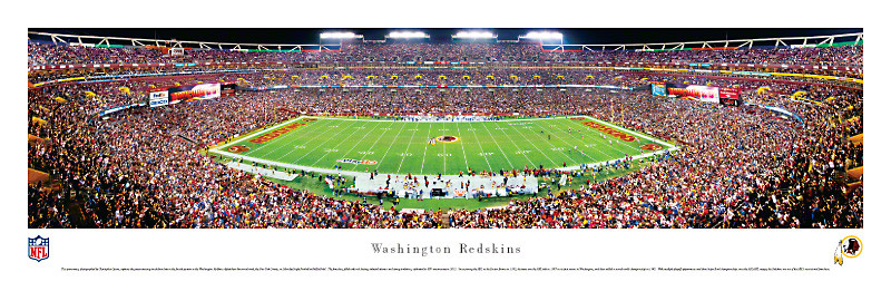 Washington Redskins at Fedex Field Panorama Poster
