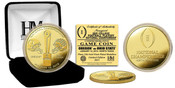 2015 College Football National Championship Gold Mint Coin