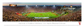 USC Trojans at the Los Angeles Coliseum Panorama Poster