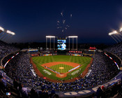 Kansas City Royals at Kauffman Stadium Fireworks Photo