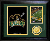 "Baylor Bears""Fan Memories"" Bronze Coin Desktop Photo Mint"