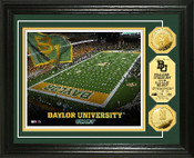 Baylor Bears McLane Stadium Gold Coin Photo Mint