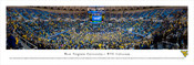 West Virginia Mountaineers at WVU Coliseum Panorama Poster