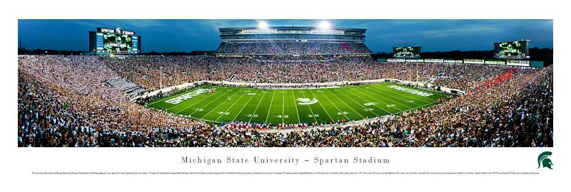 Spartan Stadium Poster