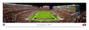"""Endzone"" San Francisco 49ers at Levis Stadium Panorama Poster"
