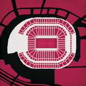 University of Phoenix Stadium - Arizona Cardinals City Print