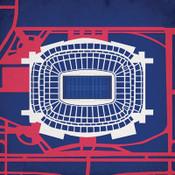 NRG Stadium City Print