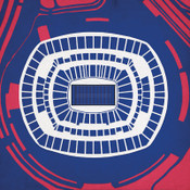 MetLife Stadium - New York Giants City Print