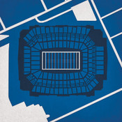 Lucas Oil Stadium City Print