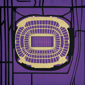 M&T Bank Stadium - Baltimore Ravens City Print
