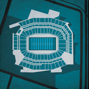 Lincoln Financial Field - Philadelphia Eagles City Print