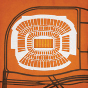 Cleveland Browns Stadium City Print