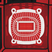 Arrowhead Stadium City Print