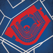 Progressive Field City Print